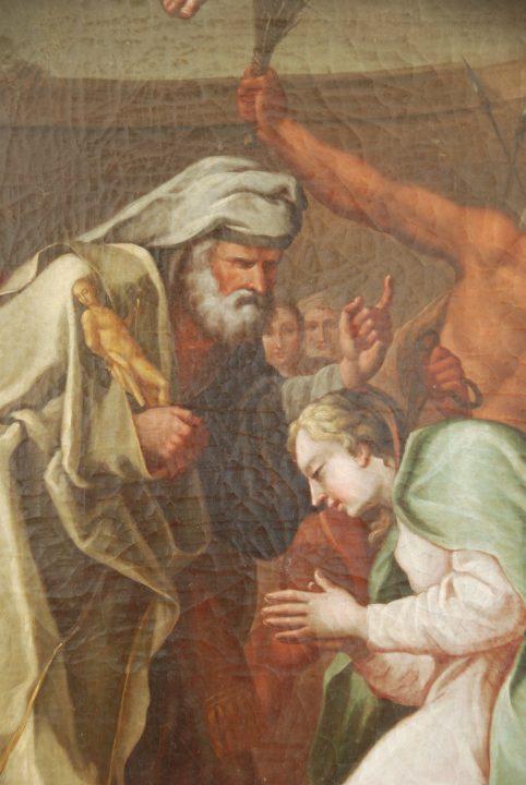 Pintura a óleo sobre tela (séc. XVII)